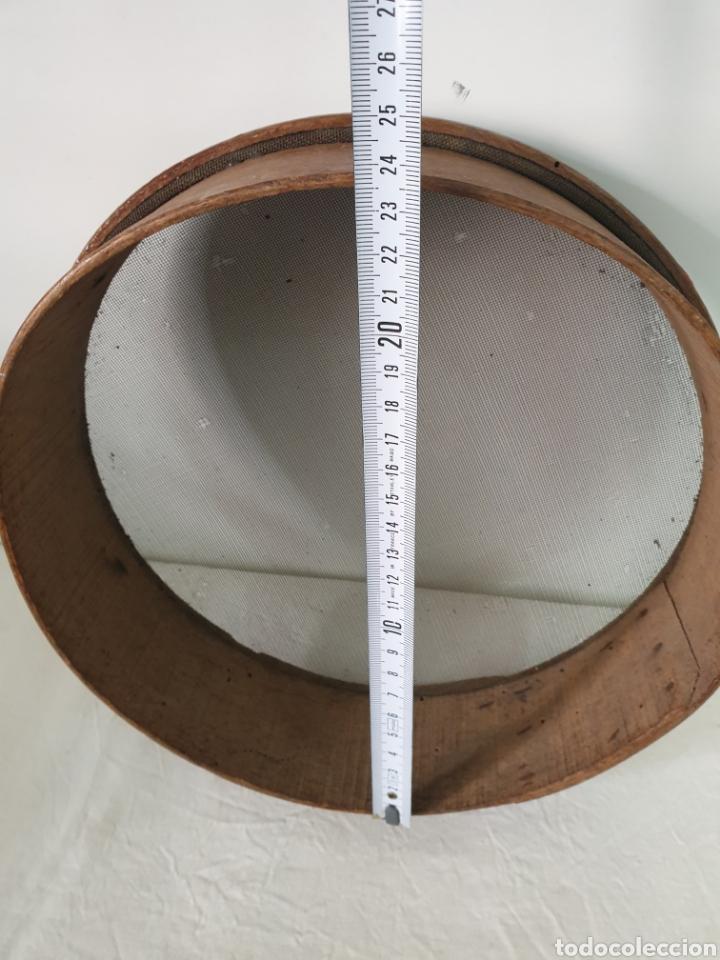 Antigüedades: Cedazo de madera - Foto 5 - 195170373