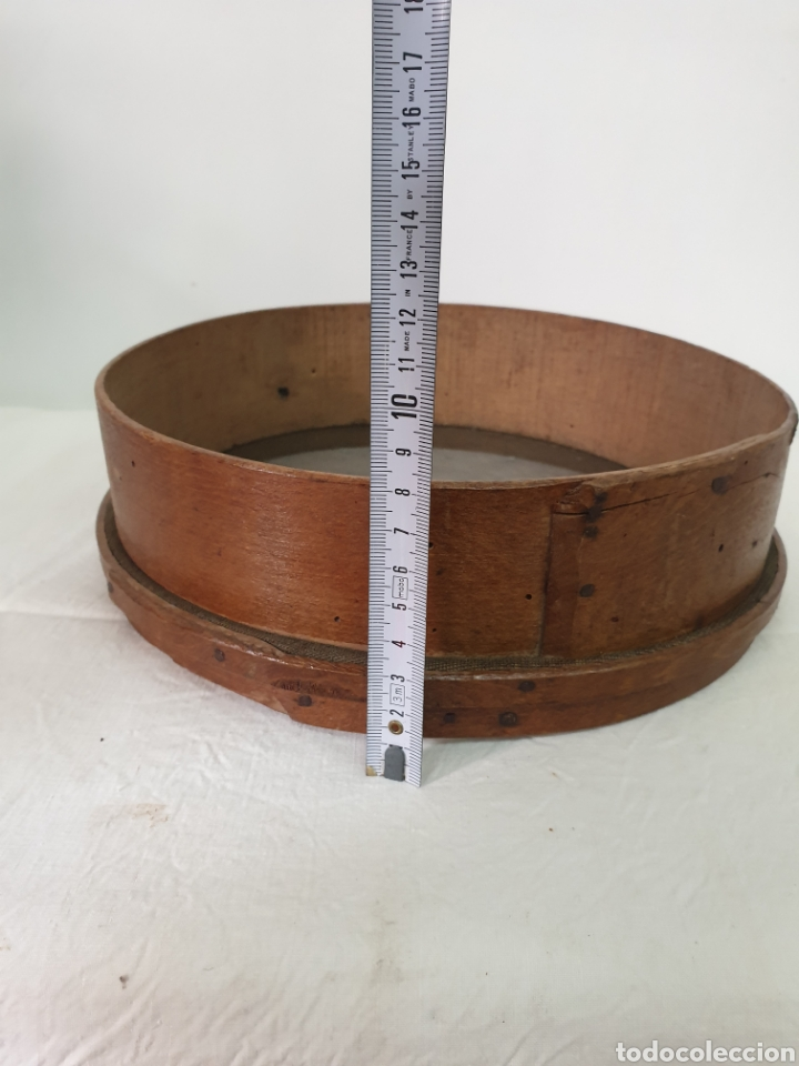 Antigüedades: Cedazo de madera - Foto 6 - 195170373
