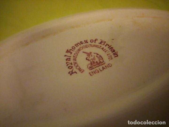 Antigüedades: Lote de 3 piezas de porcelana enoch wedwood(tunstall) royal homes of britain england - Foto 5 - 195170511