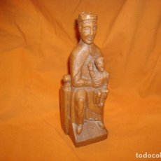 Antigüedades: VIRGEN DE NURIA,MADERA.. Lote 195170886