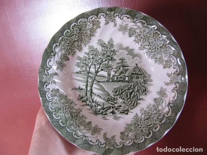PLATO BOL MYOTT THE BROOK MADE IN ENGLAND FINE STAFFORDSHIRE WARE (Antigüedades - Porcelanas y Cerámicas - Inglesa, Bristol y Otros)