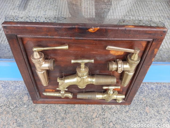 Antigüedades: Colección grifos de vino espectacular !!! - Foto 11 - 195178988