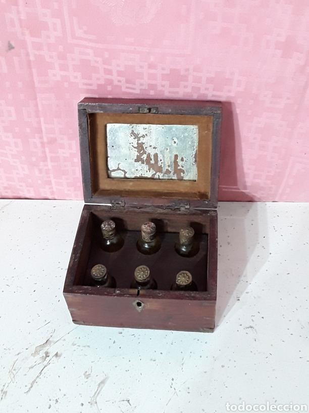 Antigüedades: Caja de esencias - Foto 3 - 195179277