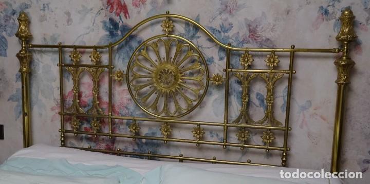 Antigüedades: Canapé Luis XV S.XIXen madera decaoba y recién tapizado por Cole&Son - Foto 42 - 188052595
