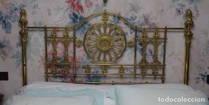 Antigüedades: Canapé Luis XV S.XIXen madera decaoba y recién tapizado por Cole&Son - Foto 43 - 188052595