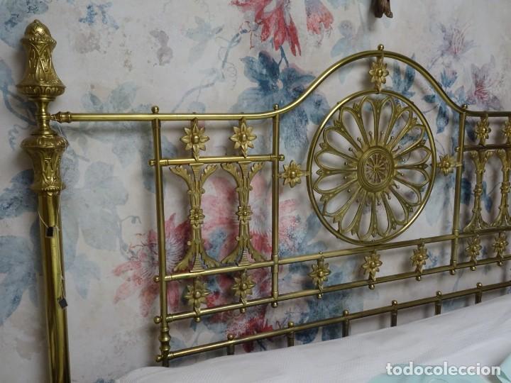 Antigüedades: Canapé Luis XV S.XIXen madera decaoba y recién tapizado por Cole&Son - Foto 44 - 188052595