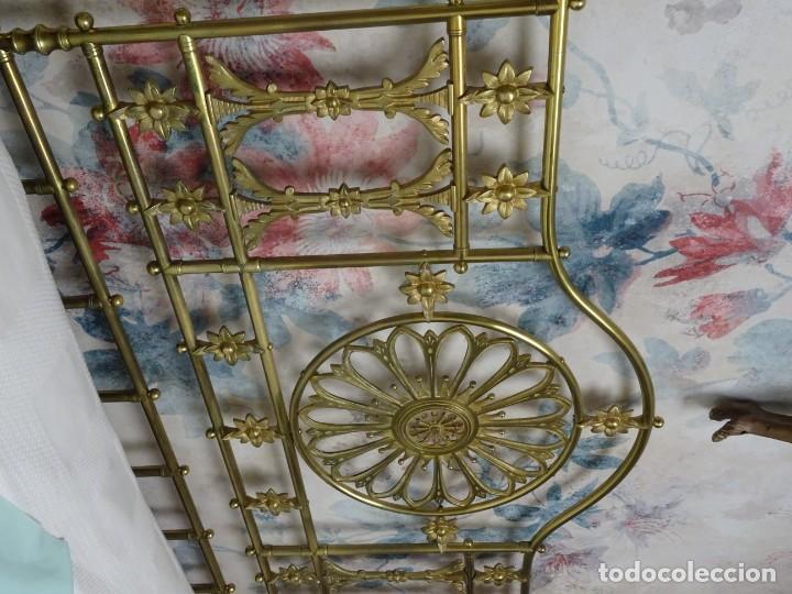 Antigüedades: Canapé Luis XV S.XIXen madera decaoba y recién tapizado por Cole&Son - Foto 45 - 188052595