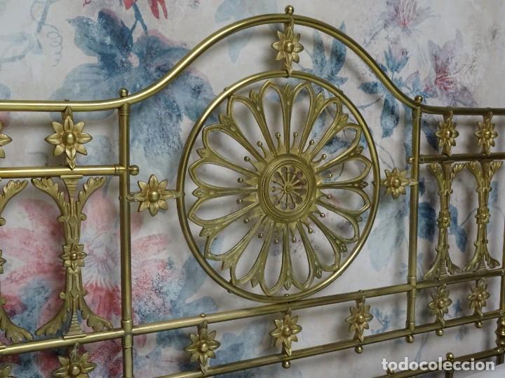 Antigüedades: Canapé Luis XV S.XIXen madera decaoba y recién tapizado por Cole&Son - Foto 46 - 188052595
