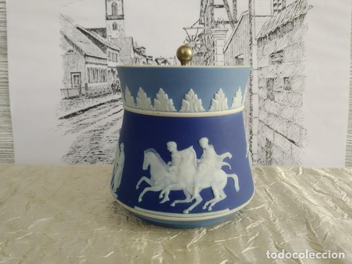 Antigüedades: Rebajas!!!Wedgwood muy raro ! tres colores! 1780-1820 años - Foto 3 - 195187337