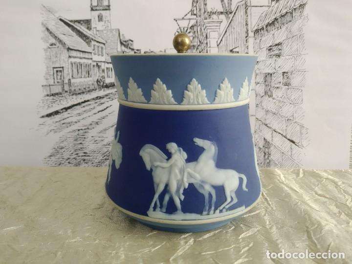 Antigüedades: Rebajas!!!Wedgwood muy raro ! tres colores! 1780-1820 años - Foto 5 - 195187337