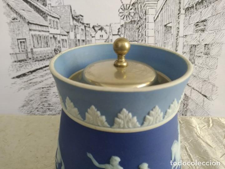 Antigüedades: Rebajas!!!Wedgwood muy raro ! tres colores! 1780-1820 años - Foto 8 - 195187337