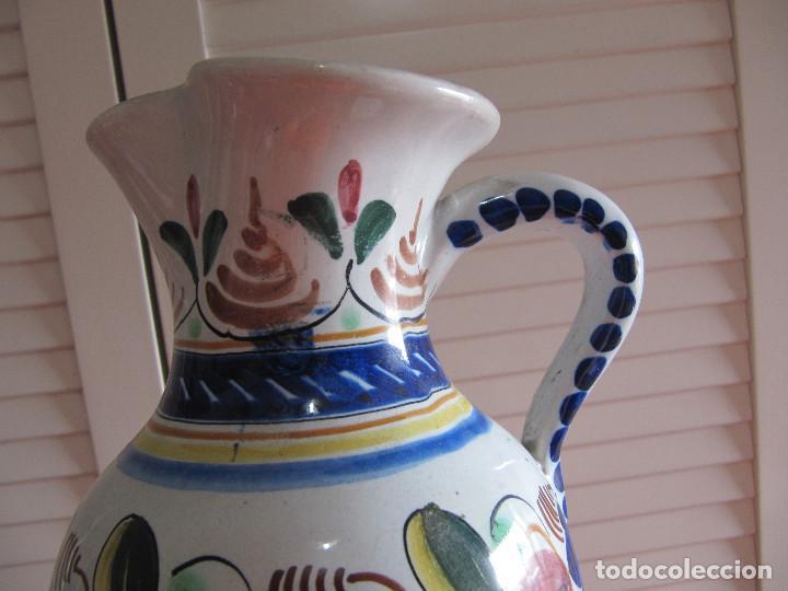 Antigüedades: Preciosa jarra Velazquez puente del Arzobispo - Foto 2 - 195191860