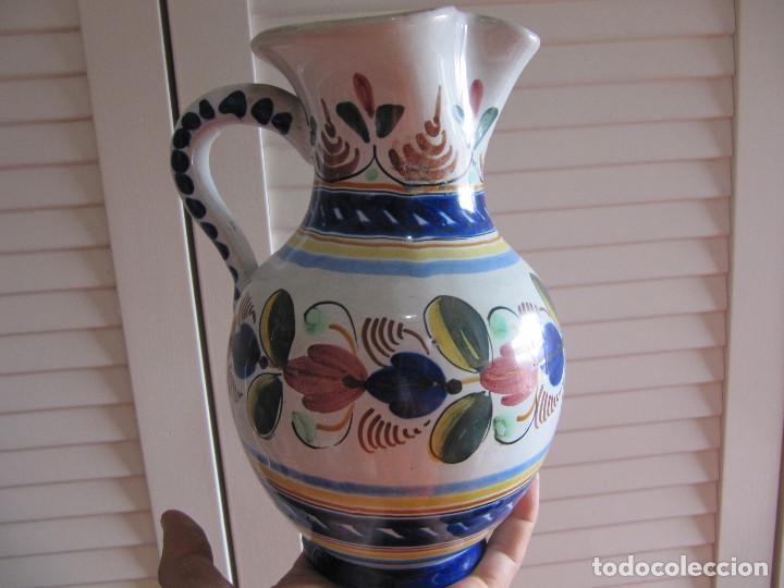 Antigüedades: Preciosa jarra Velazquez puente del Arzobispo - Foto 3 - 195191860