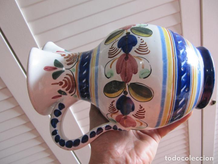 Antigüedades: Preciosa jarra Velazquez puente del Arzobispo - Foto 6 - 195191860