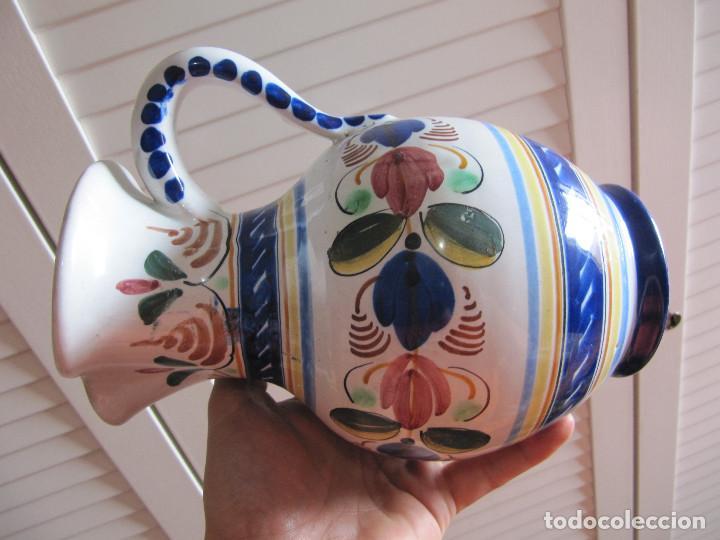 Antigüedades: Preciosa jarra Velazquez puente del Arzobispo - Foto 7 - 195191860
