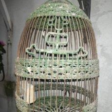 Antigüedades: JAULA DE PERDIZ RARA. Lote 195192785