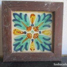 Antigüedades: AZULEJO BARROCO VALENCIANO. Lote 195193408