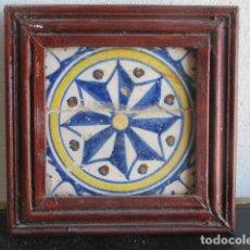 Antigüedades: AZULEJO BARROCO VALENCIANO. Lote 195193636