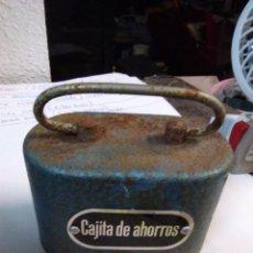 Antigüedades: CAJA METÁLICA CAJITA DE AHORROS SIN LLAVE . Lote 195193732