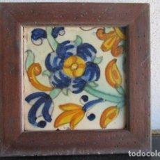 Antigüedades: AZULEJO BARROCO VALENCIANO. Lote 195193888
