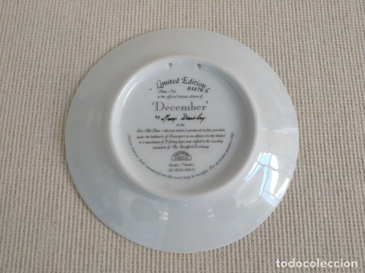 Antigüedades: Rebajas! Colección de platos de 12 piezas, son 12 meses, Davenport! - Foto 2 - 195196645