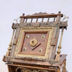 Antigüedades: ATRIL DE MESA,DE MADERA,METAL Y BRONCE. Lote 195199660