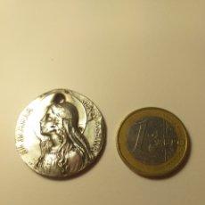 Antigüedades: MEDALLA BAÑO PLATA - MARIA MAGDALENA. Lote 195199932
