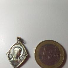 Antigüedades: ANTIGUA MEDALLA DE PLATA - VIRGEN MARIA. Lote 195200841