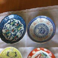 Antigüedades: PLATOS DE PORCELANA CHINA. Lote 195201362