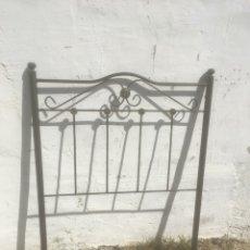 Antigüedades: CABECERO DE FORJA. Lote 195203646