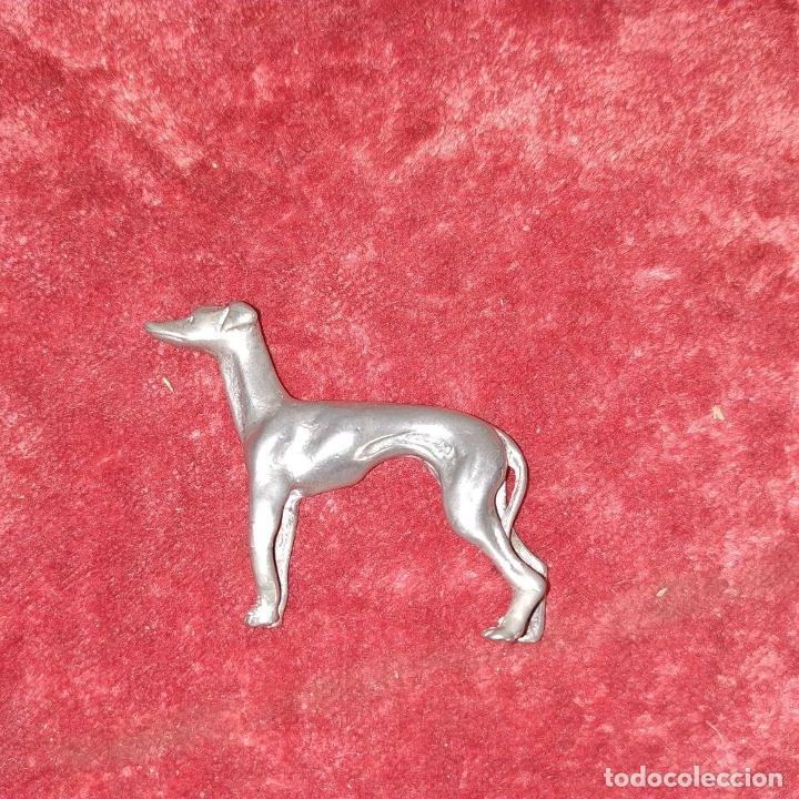 Antigüedades: 3 ANIMALES EN METAL PLATEADO. ESPAÑA. SIGLOS XIX-XX - Foto 11 - 195206281