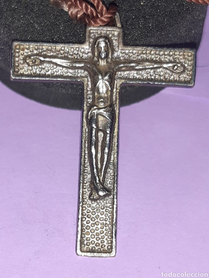 ANTIGUA CRUZ ITALIANA (Antigüedades - Religiosas - Cruces Antiguas)