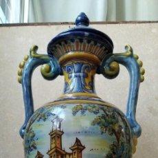 Antigüedades: JARRON RUIZ DE LUNA - TALAVERA. Lote 195217781