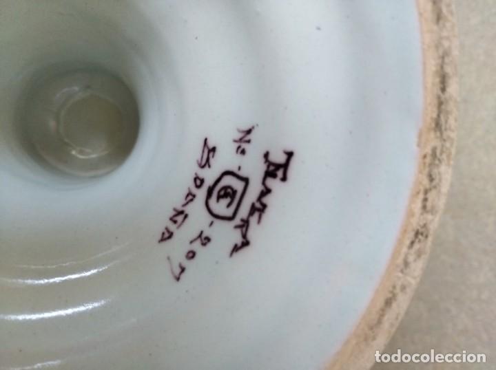 Antigüedades: JARRON RUIZ DE LUNA - TALAVERA - Foto 13 - 195217781