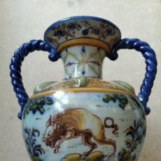Antigüedades: JARRON RUIZ DE LUNA - TALAVERA. Lote 195218278
