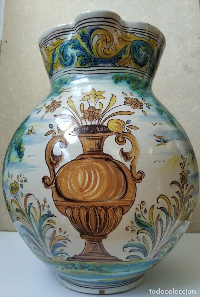 JARRA RUIZ DE LUNA - TALAVERA (Antigüedades - Porcelanas y Cerámicas - Talavera)