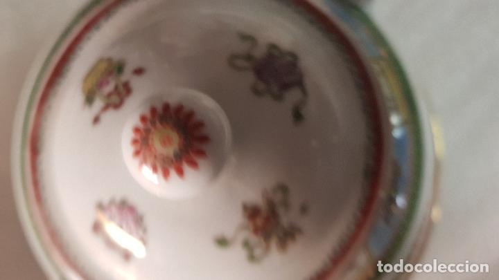 Antigüedades: TETERA AZUCARERA JARRITA Y TAZA CON SUS CORRESPONDIENTES PLATOS AÑOS 80 - Foto 22 - 195223843