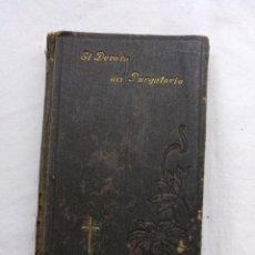 Antigüedades: EL DEVOTO DEL PURGATORIO. Lote 195224133