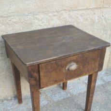 Antigüedades: MESA TOCINERA ANTIGUA SANA.. Lote 195232392