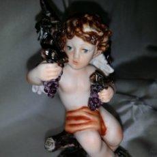 Antigüedades: ANGEL DE CAPODIMONTE. Lote 195232580