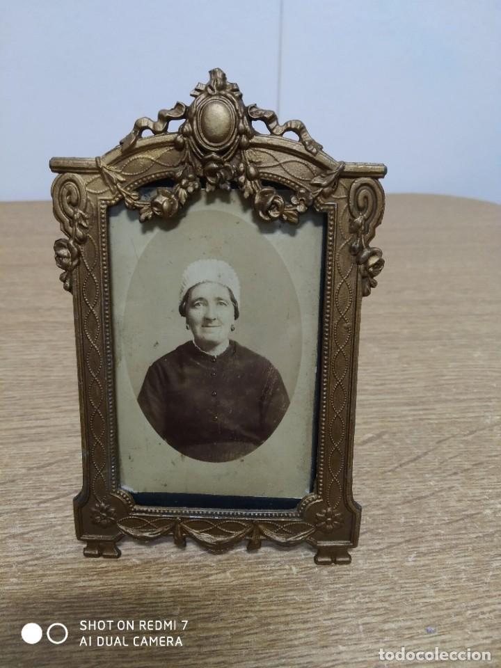 POTAFOTOS S-XIX 1885 (Antigüedades - Hogar y Decoración - Portafotos Antiguos)