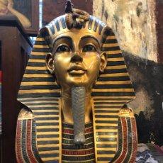 Antigüedades: MASCARA DE TUTANKAMON DEL MUSEO DEL CAIRO. Lote 195235890