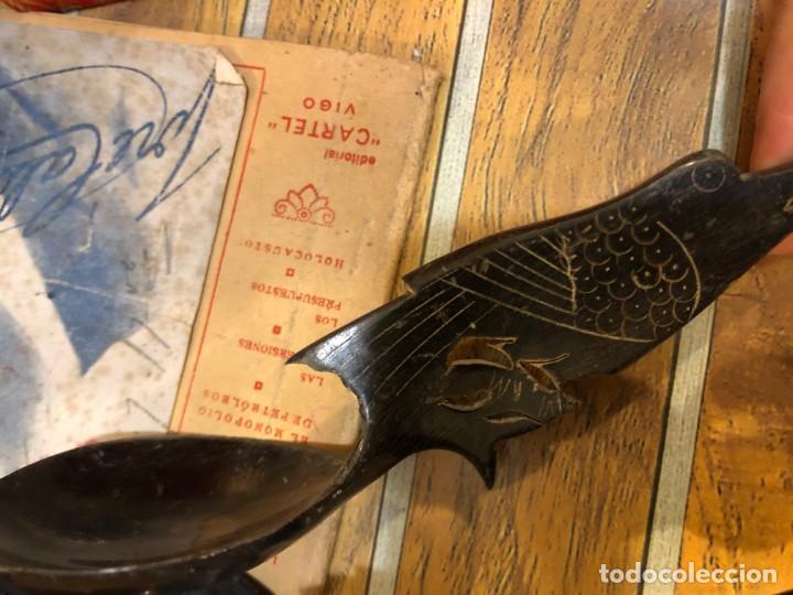 Antigüedades: cucharas chinas antiguas - Foto 2 - 195236371