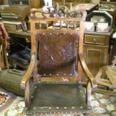 Antigüedades: SILLON FRAILERO MODERNISTA. Lote 195240855
