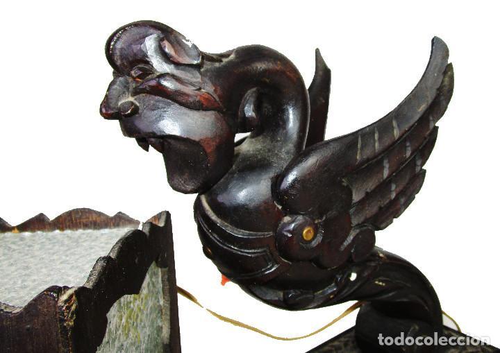 Antigüedades: RARÍSIMA LAMPARA RENACIMIENTO ESPAÑOL PARA DESPACHO MESA A JUEGO ANTIGUA ORIGINAL - Foto 5 - 195242321