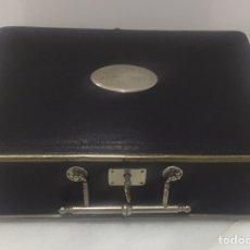 Antigüedades: ANTIGUO COFRE FRANCÉS DE PRINCIPIOS DE 1900. Lote 195245511
