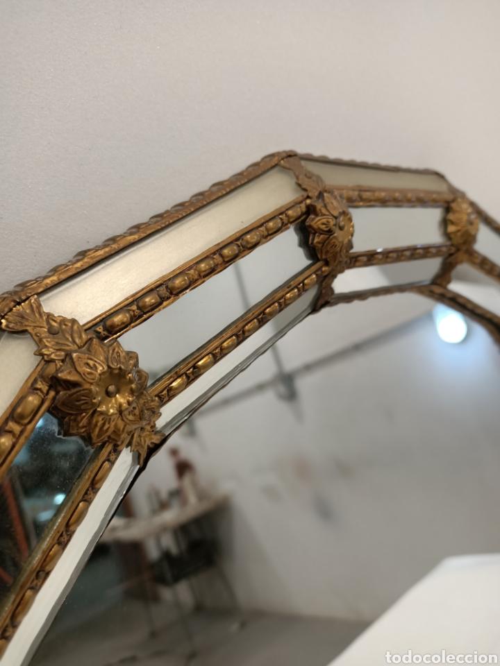 Antigüedades: Espejo Tipo Veneciano - Foto 3 - 238732235