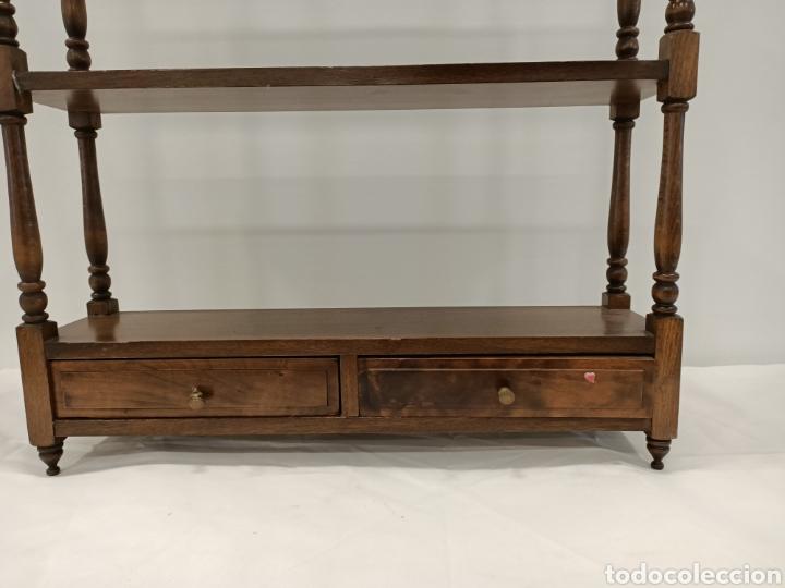 Antigüedades: Estanterias de maderas de colgar - Foto 2 - 195245987