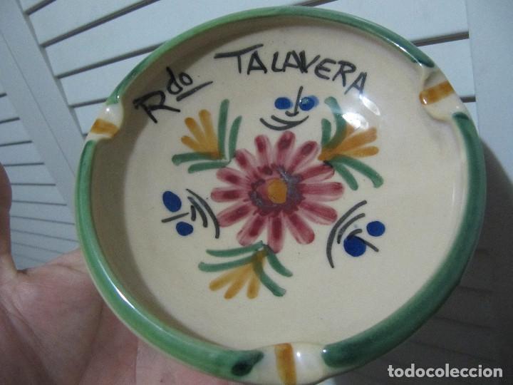 CENICERO RDO TALAVERA (Antigüedades - Porcelanas y Cerámicas - Talavera)