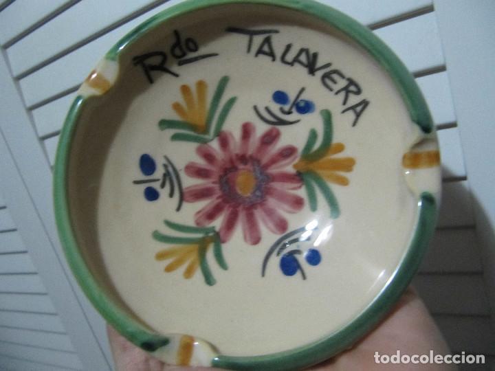 Antigüedades: Cenicero RDO talavera - Foto 3 - 195246957
